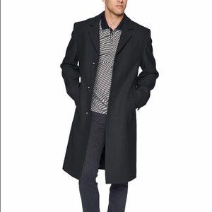 London Fog Signature wool blend coat
